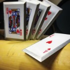 Royal Flush Throwing Card Set Of Five