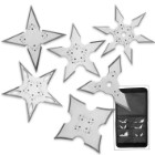 On Target Throwing Star Set - Six-Pack