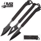 Black Legion 3 Pc. Harpoon Set With Sheath