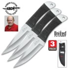 Gil Hibben Large Throwing Knife Triple Set