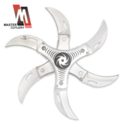 Victor Lee Twister Throwing Star Silver