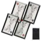 Joker's Revenge Throwing Cards Four Piece Set With Pouch
