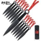 Ridge Runner 12 Piece Throwing Knife Set