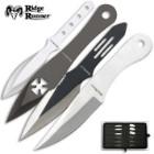 24-Piece Ridge Runner Throwing Knives Set