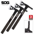 SOG Throwing Hawks Three-Pack Set