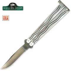 Bear & Son Butterfly Knife Ti-Coated