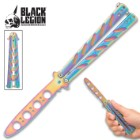 Black Legion Balisong Butterfly Trainer Rainbow