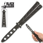 Black Legion Balisong Butterfly Trainer - Black