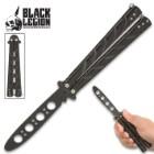 Black Legion Balisong Butterfly Trainer - Black