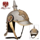 German Pickelhaube Historic Reproduction Military Helmet