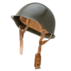 Czech Military Surplus Steel Helmet ODGreen