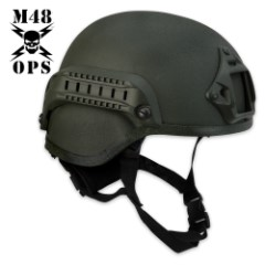 M48 Gear Tactical Base Jump Helmet Green