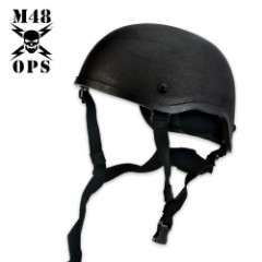 M48 Gear Tactical Mickey Helmet Black