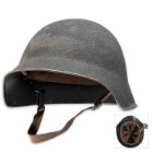 Swiss M18 Steel Helmet Used