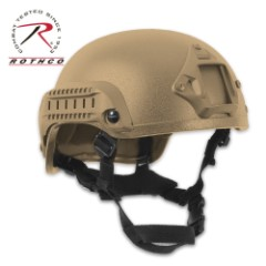 Base Jump Helmet ABS Coyote