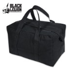 Heavy Duty Parachute Cargo Bag - Black