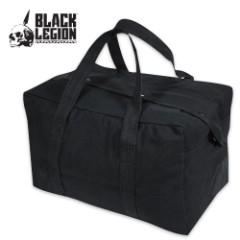Heavy Duty Parachute Cargo Bag Black