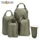 Trailblazer Dry Bags 4-Pack - XL, LG, MED, SM Sizes - Waterproof / Dustproof