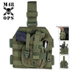 M48 Gear Tactical Holster Green