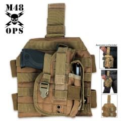 M48 Gear Tactical Holster Tan