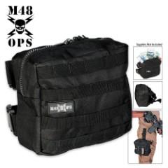 M48 Gear Military Tactical Leg Bag Black