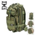 M48 OPS Tactical Assault Backpack OD