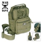 M48 OPS Tactical Military Bag - Green