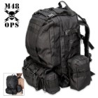 M48 Ops Gear Assault Pack Black