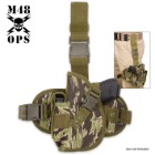 M48 Gear Leg Gun Holster – Zebra Camo
