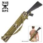 M48 Gear MOLLE Shotgun Scabbard – Zebra Camo