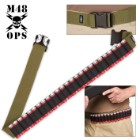 M48 Gear Shotgun Shell Belt – OD Green