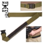 M48 Gear Rifle Cartridge Belt – OD Green