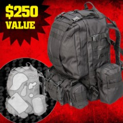M48 Bug-Out Mystery Bag XXL - Tactical Backpack Filled with Wide Assortment of Gear