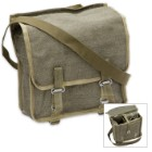 Surplus Authentic Polish Olive Drab Bread Bag – Like New