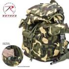 ROTHCO Woodland Camo Rucksack Pack