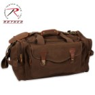 Rothco Canvas Long Weekend Bag Brown