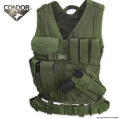 Condor Outdoor Cross Draw Vest - OD
