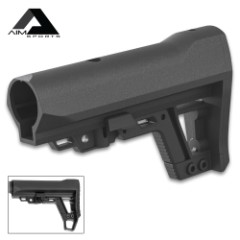 AIMS Advanced Modular Stock - Lightweight Design, Collapsible To Six Lengths, Removable Lower Portion, Sling Attachment Points