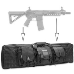 Drago Single Gun Case – 42 In. Rifle Storage