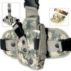 UTG Special Ops Tactical Leg Holster Army Digital