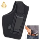Concealed Belt Holster - Padded Polyester Construction, Front Arch Design, Thumb Strap