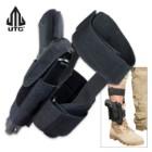 UTG Concealed Ankle Holster Black
