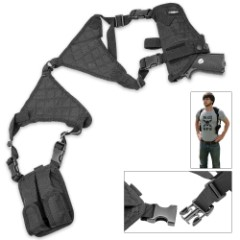 M48 Ops Universal Horizontal Shoulder Holster