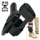 M48 OPS Concealed Ankle Holster - Black