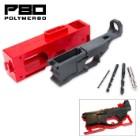 AR-15 80% Lower Receiver And Jig Kit - Polymer80 | BUDK com