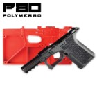 80% Glock 19/23/32 Pistol Frame Kit - Black
