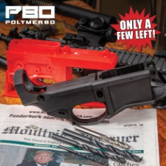 AR15 80% Lower Receiver And Jig Kit - Polymer80