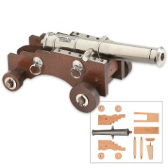 """Traditions Firearms """"Old Ironsides"""" Build-It-Yourself Mini Cannon"""