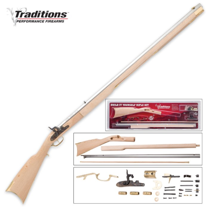Traditions Kentucky Rifle Kit - Build It Yourself | Kennesaw
