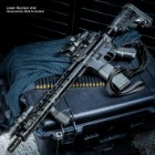 "TACFire AR-15 Rifle Build Kit – 5.56 NATO 16"" Barrel With Lower Parts Kit, M-LOK Handguard, Six-Position Stock, Pistol Grip"